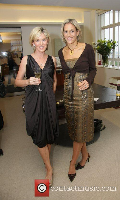 Guest and Emily Maitlis  at a signing...