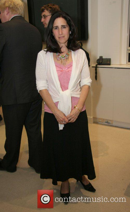 Marina Wheeler at a signing session for Rachel...