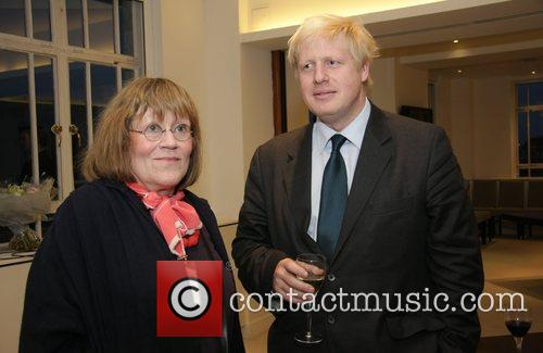 Charlotte Johnson and Boris Johnson  at a...