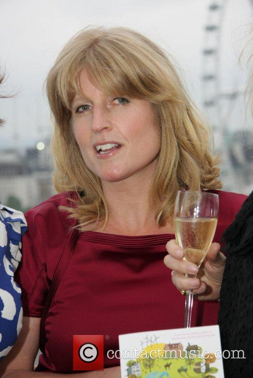 Rachel Johnson  at a signing session for...