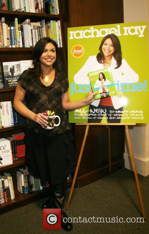 Signing her new book, 'Just In Time' at...