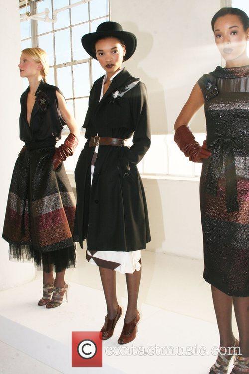 Mercedes-Benz Fashion Week Fall 2008 Rachel Roy Fashion...