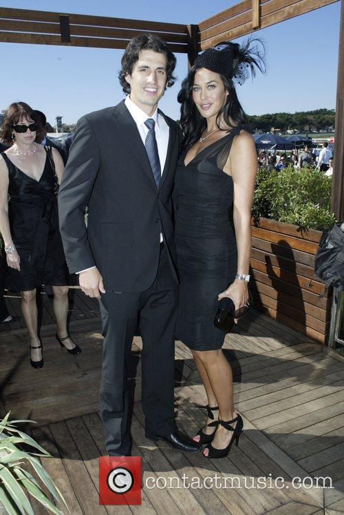 Andy Lee and Megan Gale The Doncaster Day...
