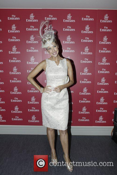 Catriona Rowntree The Doncaster Day racing carnival at...