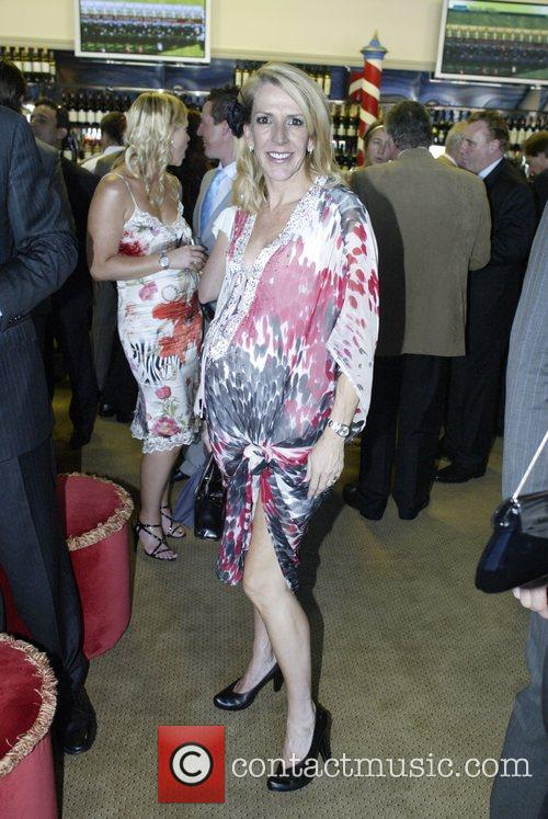 Jane Flemming The Doncaster Day racing carnival at...