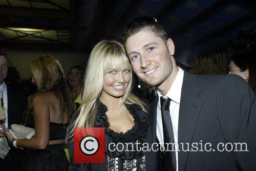 Lara Bingle and Michael Clarke The Doncaster Day...
