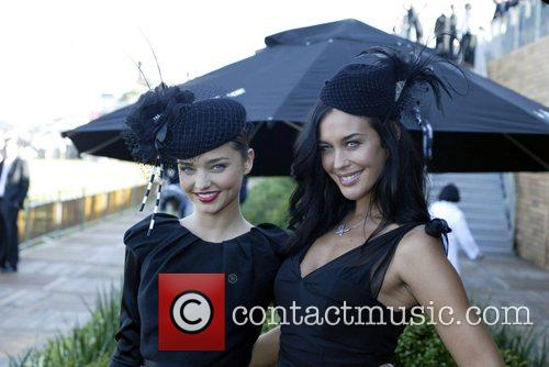 Megan Gale and Miranda Kerr The Doncaster Day...