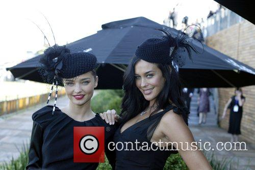 Miranda Kerr and Andy Lee The Doncaster Day...