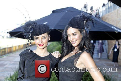 Miranda Kerr and Megan Gale The Doncaster Day...