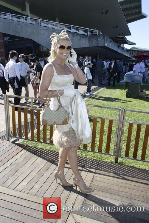 Sonia Kruger The Doncaster Day racing carnival at...