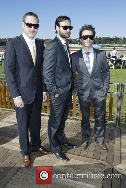 Underbelly castmembers The Doncaster Day racing carnival at...