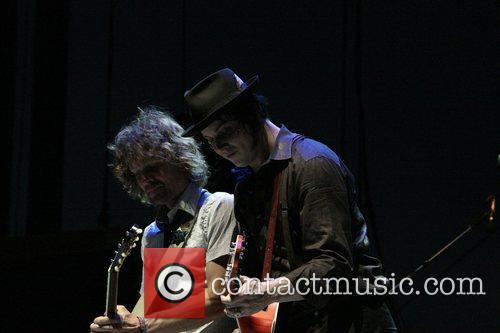 The Raconteurs perform at the Coachella Music festival...