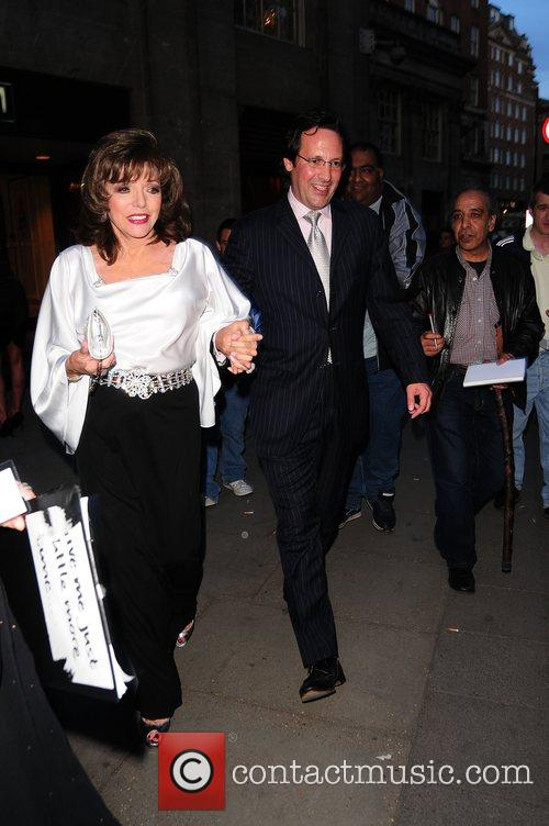 Joan Collins,  Sony Radio Academy Awards 2008...