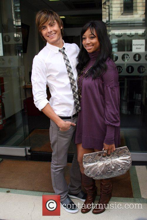 Zac Efron and Monique Coleman 6