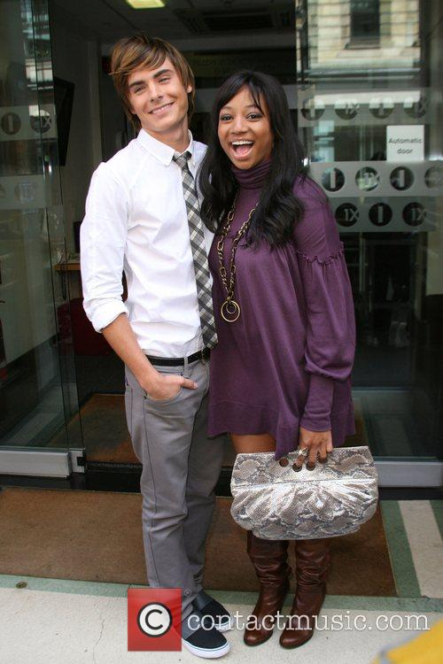Zac Efron and Monique Coleman 7