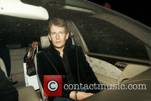 Patrick Kielty leaving the Raffles Nightclub