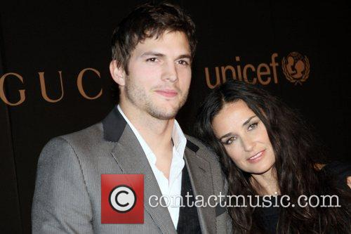 Ashton Kutcher and Demi Moore A Night to...