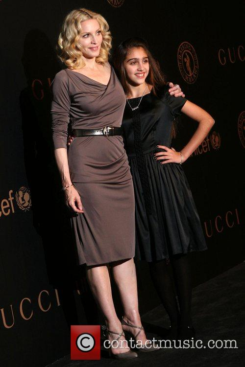 Madonna and daughter Lourdes Maria Ciccone Leon A...