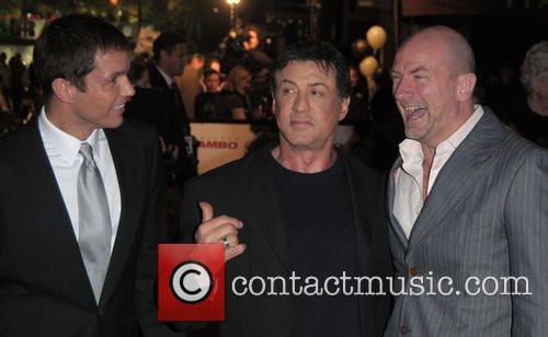 Matthew Marsden, Rambo and Sylvester Stallone 1