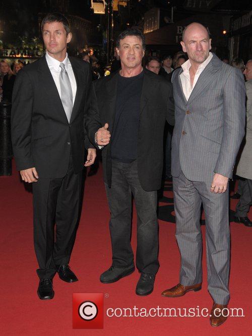 Matthew Marsden, Rambo and Sylvester Stallone 3