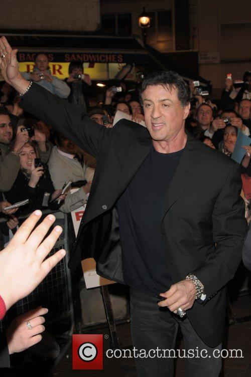 Sylvester Stallone and Rambo 1