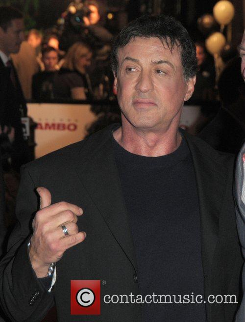 Sylvester Stallone and Rambo 3