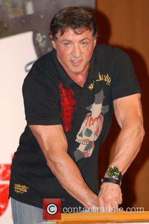 Sylvester Stallone and Rambo 8