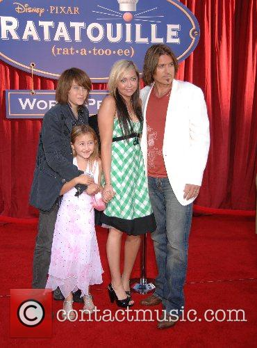 Billy Ray Cyrus and Family World Premiere of...