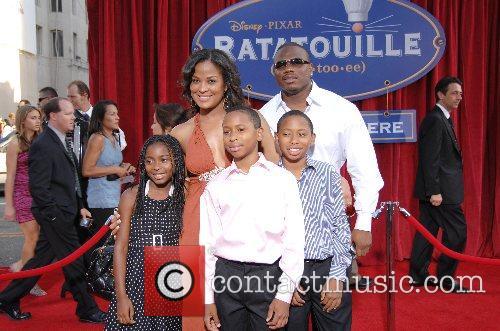 Laila Ali and Family World Premiere of Disney...