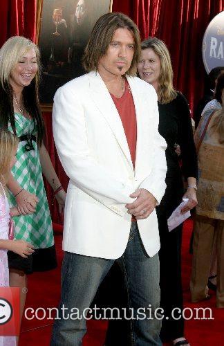 Billy Ray Cyrus  'Ratatouille' World Premiere at...