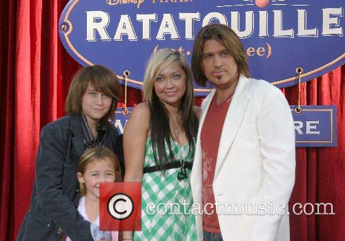 Billy Ray Cyrus and Family 'Ratatouille' World Premiere...