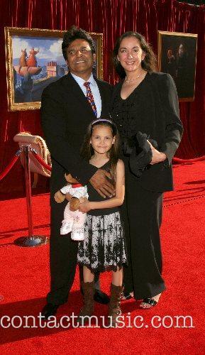 Erik Estrada and family 'Ratatouille' World Premiere at...