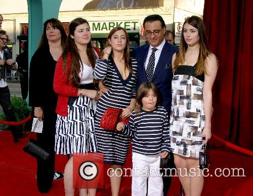 Andy Garcia and family 'Ratatouille' World Premiere at...