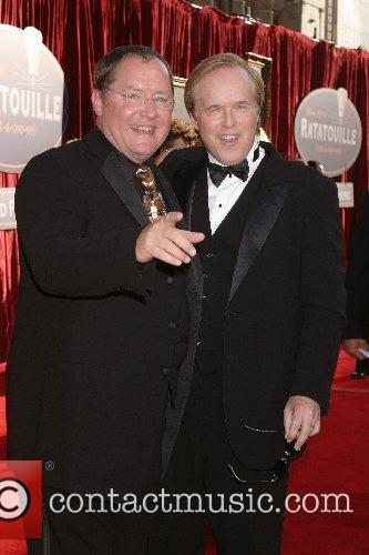 John Lasseter and Brad Bird  'Ratatouille' World...