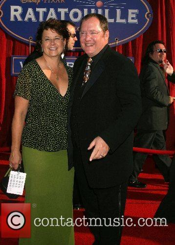 John Lasseter and Wife 'Ratatouille' World Premiere at...