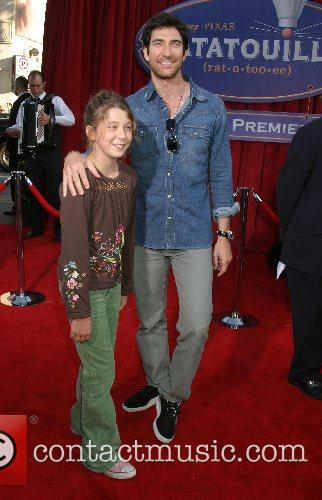 Dylan McDermott and daughter Colette  'Ratatouille' World...