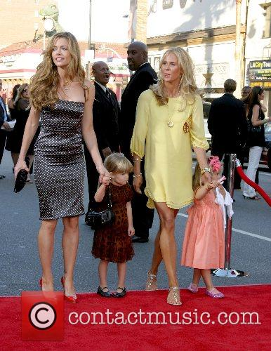 Denise Richards and daughter with guests 'Ratatouille' World...