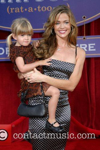 Denise Richards and daughter 'Ratatouille' World Premiere at...