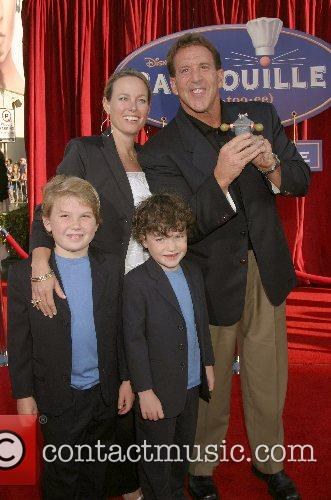 Jake Steinfeld and family 'Ratatouille' World Premiere at...