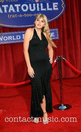 Aimee Teegraden 'Ratatouille' World Premiere at the Kodak...