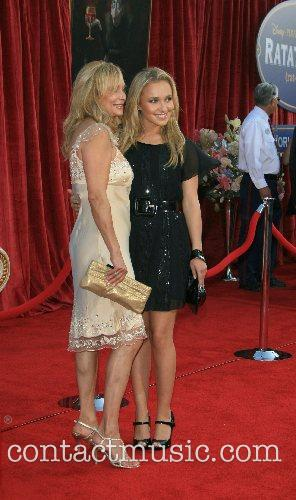 Hayden Panttiere and mother  'Ratatouille' World Premiere...