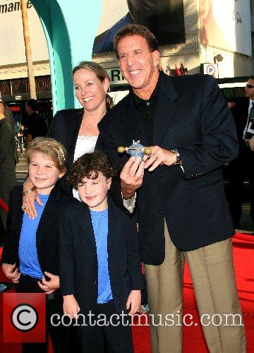 Jack Steinfield and family 'Ratatouille' World Premiere at...