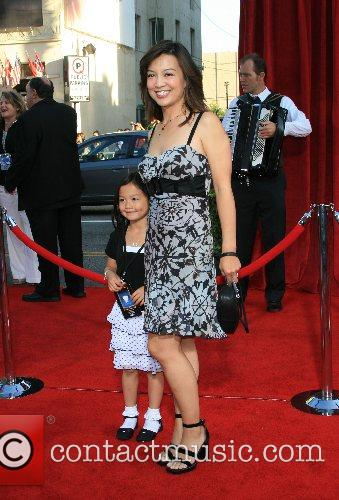Ming Na and daughter 'Ratatouille' World Premiere at...