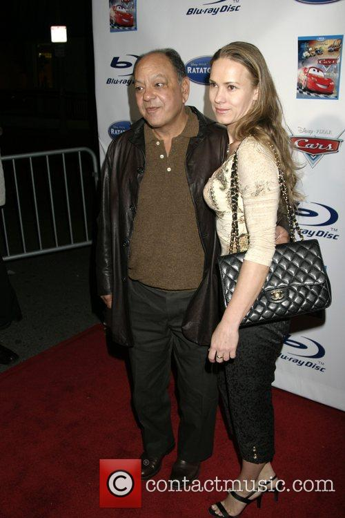 Cheech Marin and guest 'Ratatouille' DVD Release Party...