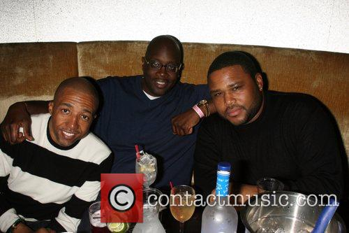 Kevin Lyles, Michael Kysser and Anthony Anderson R&B...