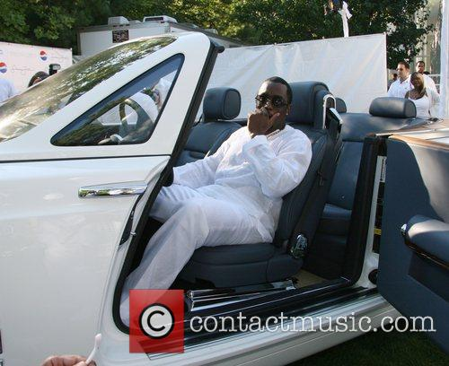 Sean Combs aka P. Diddy in his white...