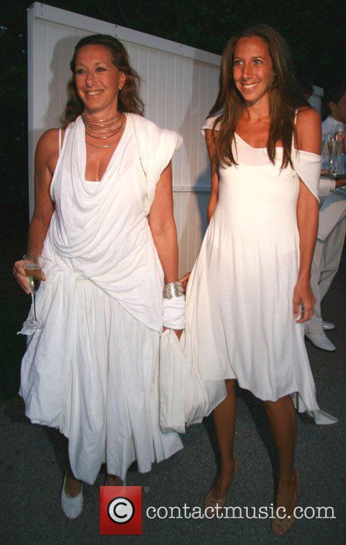 Donna Karan and daughter Gabby Karan