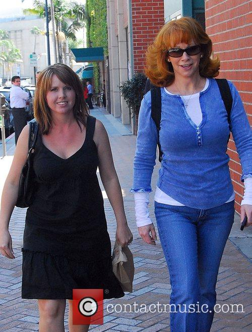 Reba McEntire out walking in Beverly Hills Los...