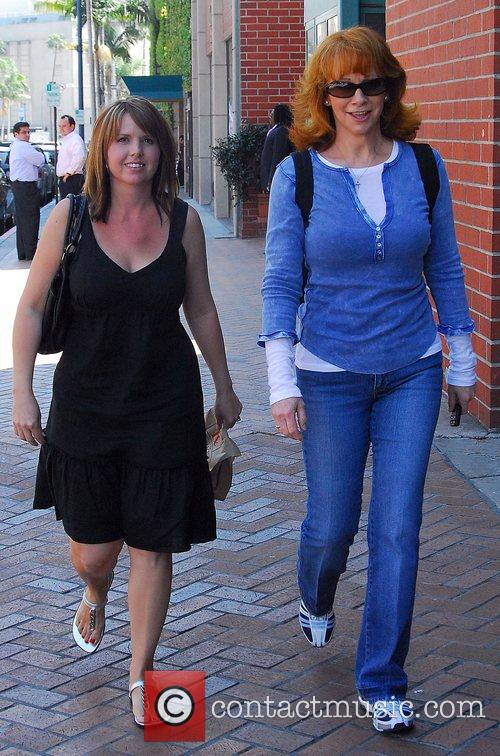 Reba McEntire out walking in Beverly Hills