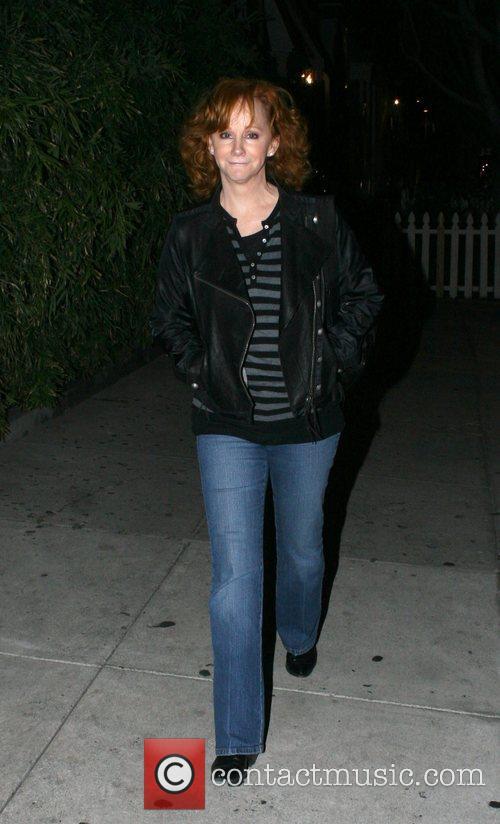 Reba McEntire Leaving Koi Restaurant  West Hollywood,...